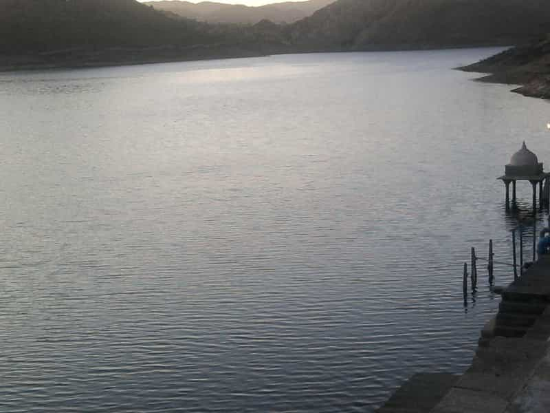 Lake Badi at Udaipur