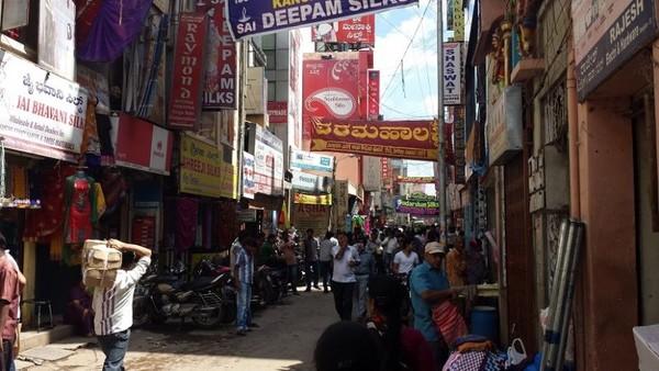 Chickpet Market Bangalore