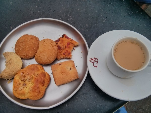 Irani Chai & Biscuits in Hyderabad