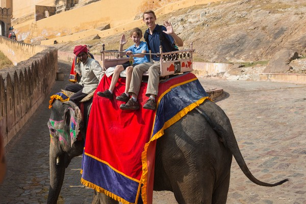 Elephant Riding at Amer Fort