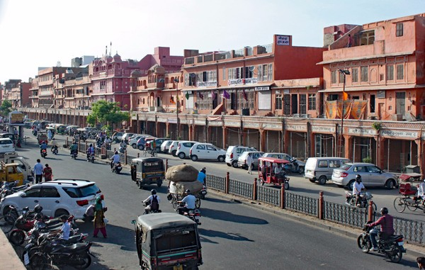 The Old town in Jaipur