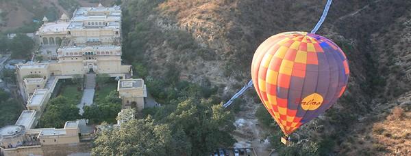 Hot Air Baloon Ride in Jaipur