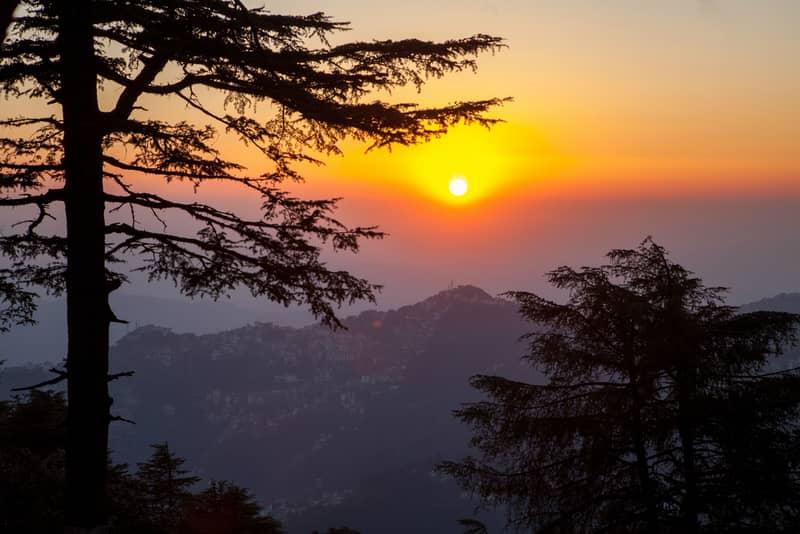 View from Jahkoo Peak