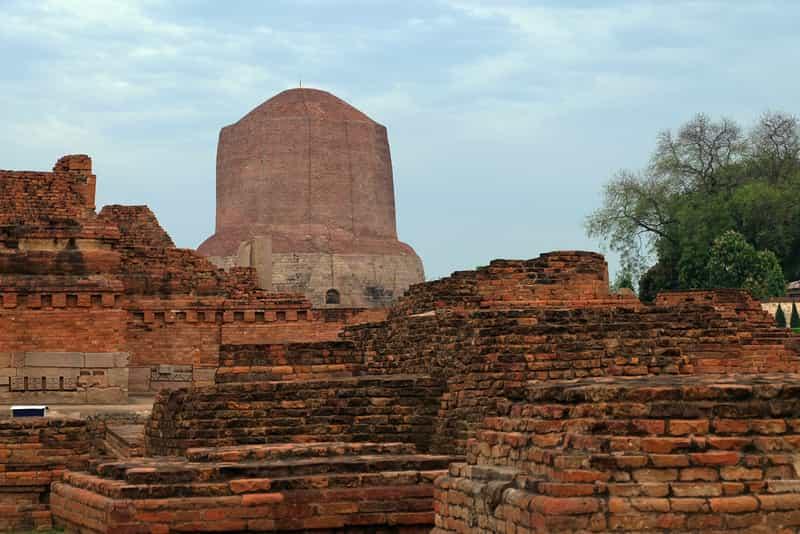 Dhamekh Stupa at Sarnath, Varanasi,