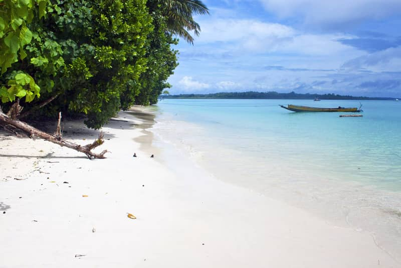 Tropical beach No. 5 on Havelock island