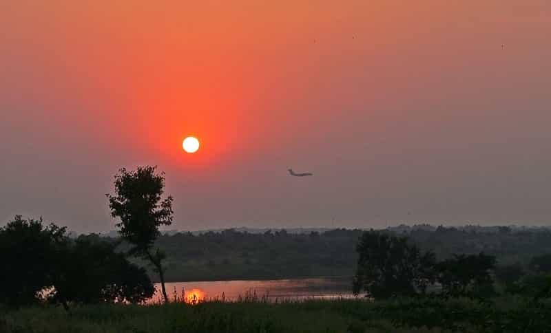 Watch the Sunset From The Ambazari Lake