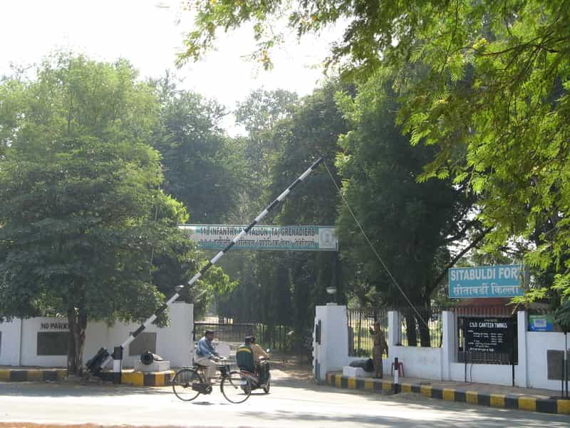 Sitabuldi Fort entrance