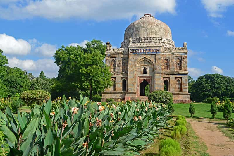 The gumbad at the Lodhi Gardens