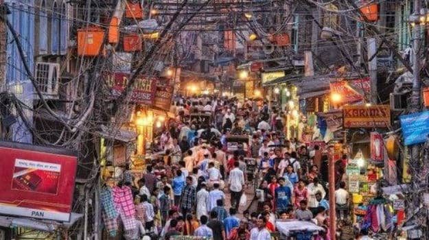 The famous Paranthe Wali Gali