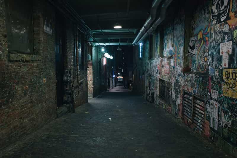Avoid Dark Alleys