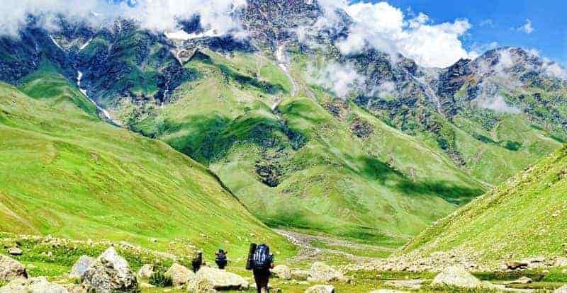 Bhabha Pass, India