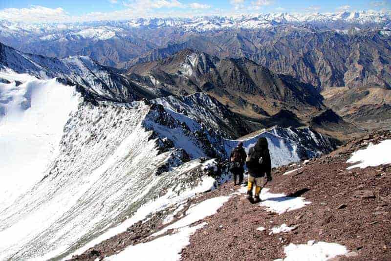 Stok Kangri Trek in India