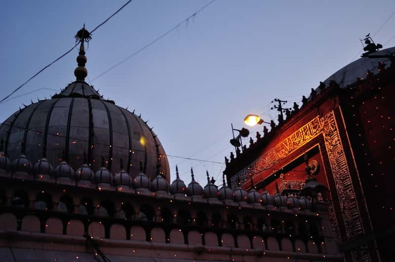 The Dargah Premise at evening