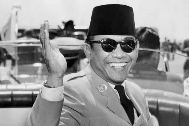 President Sukarno of Indonesia