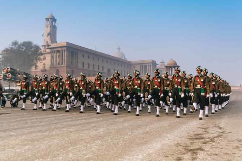 Republic Day parade at Rajpath