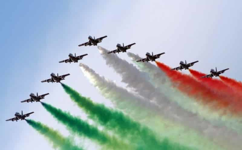Indian Air Force during Republic Day parade