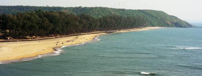 A beach in Dahanu