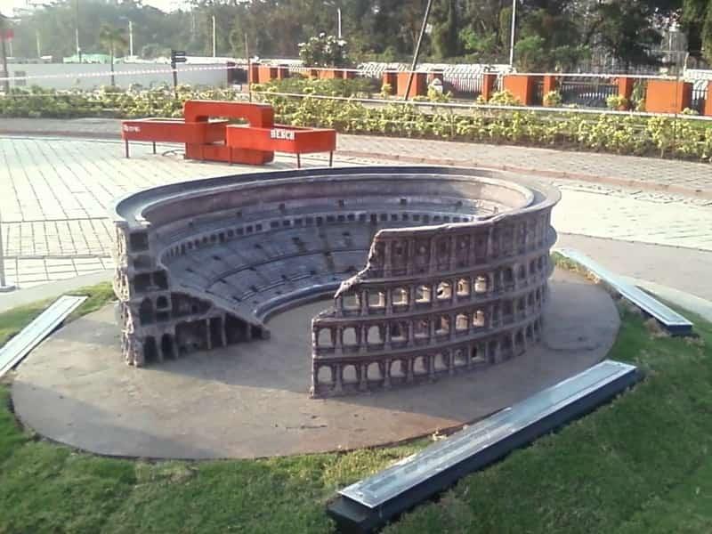 A replica of The Colosseum in Italy