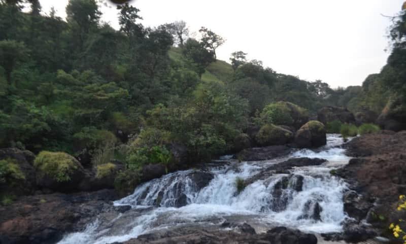 A waterfall in Durshet