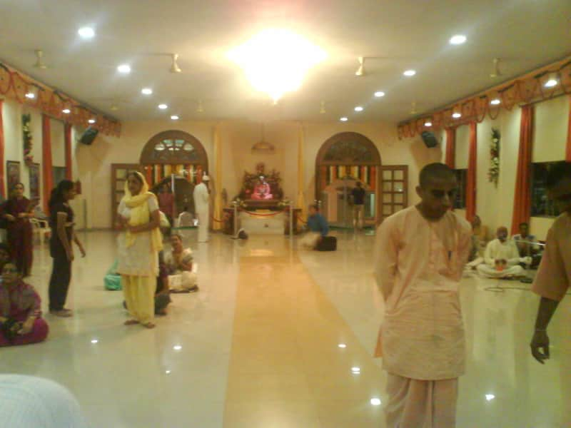 Devotees at the ISKCON Kharghar