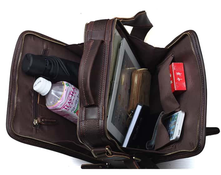 Leather Travel Organizer