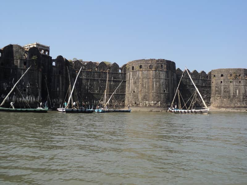The Murud-Janjira fort is a must see for anyone visiting the Murud.