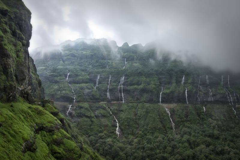 Parts of Malshej Ghat are cool even in the summer