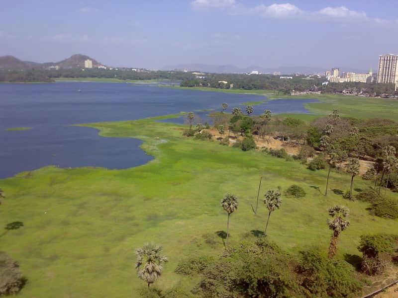 Powai Lake in Mumbai