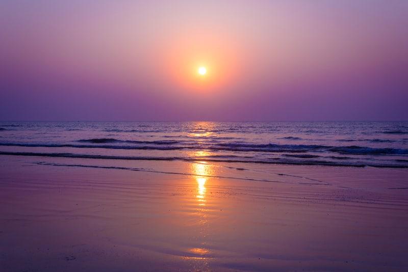Enjoy the sunset from the Shirgaon Beach, Palghar