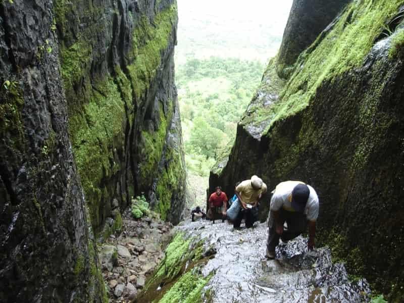 Trekking to Sudhagad Fort