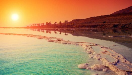 The Surreal And Spectacular Dead Sea in Jordan
