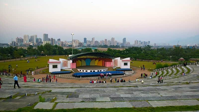 The amphitheatre at Central Park