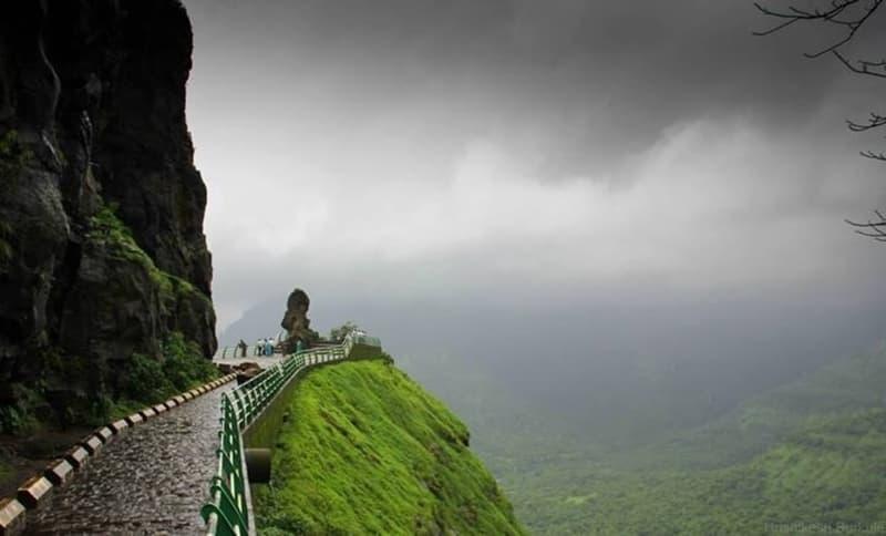 The breathtaking climb through Malshej Ghat