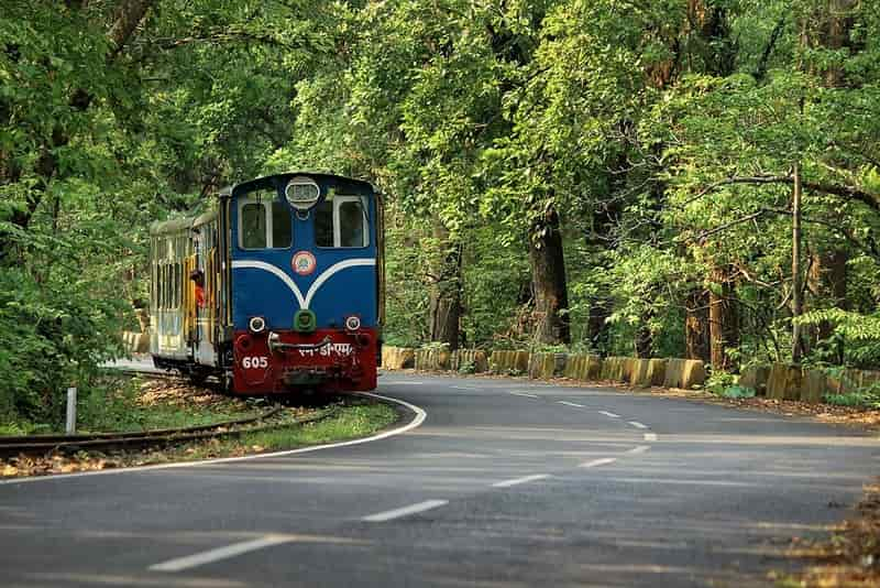 The toy train at Matheran is a tourist attraction
