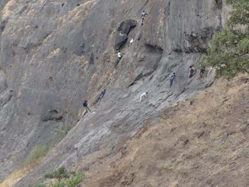 Trekking trail at Dhak Bahiri