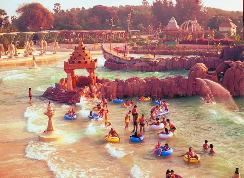 One of the oldest water parks in the city