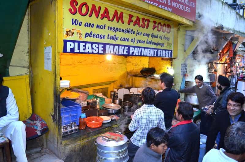 Enjoy a Bun Tikki at Lakshmi Restaurant