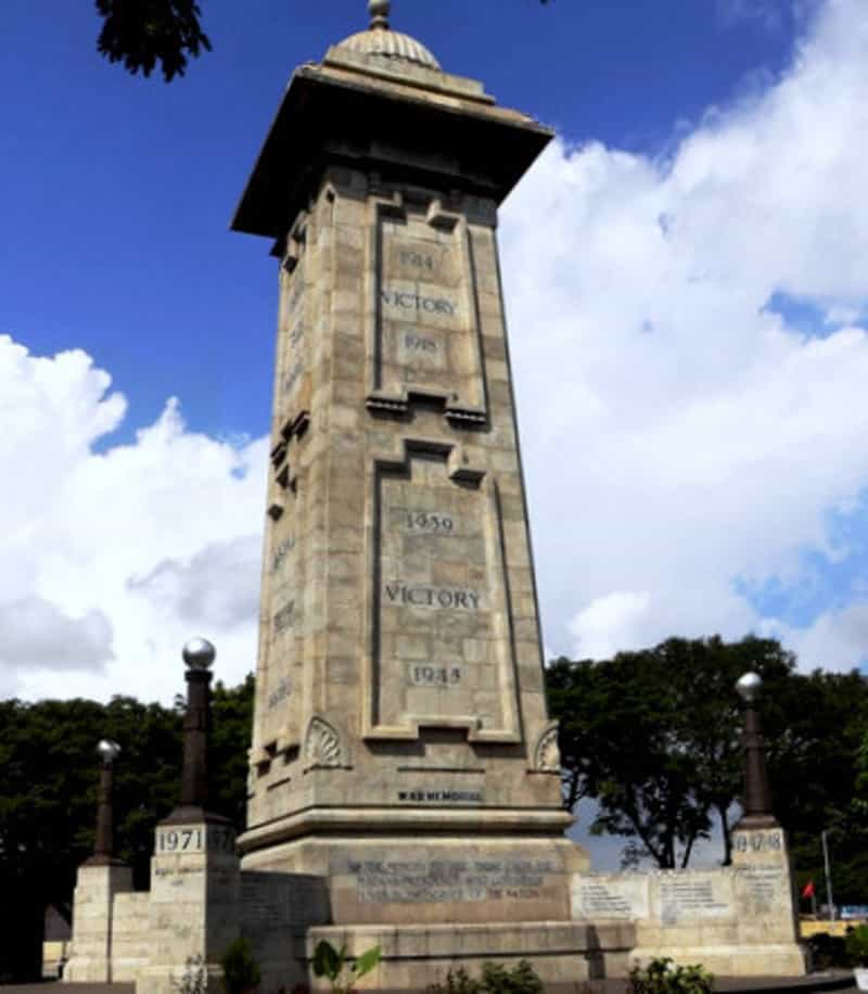 Second World War Memorial Pillar