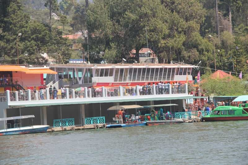 Shopping at Ooty Lake