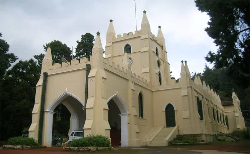 St Stephen's Church in Ooty