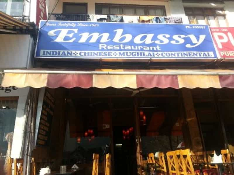 Pizzas are a big hit at Embassy Restaurant