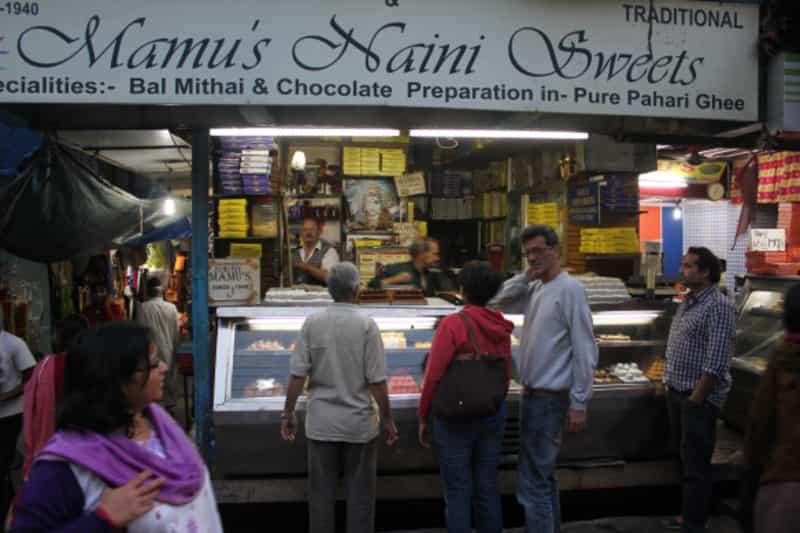Bal Mithai at Mamu's Naini Sweets