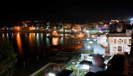 Top Places To Visit In Pushkar At Night