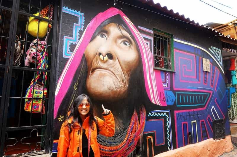 Ankita in Bogota, Colombia