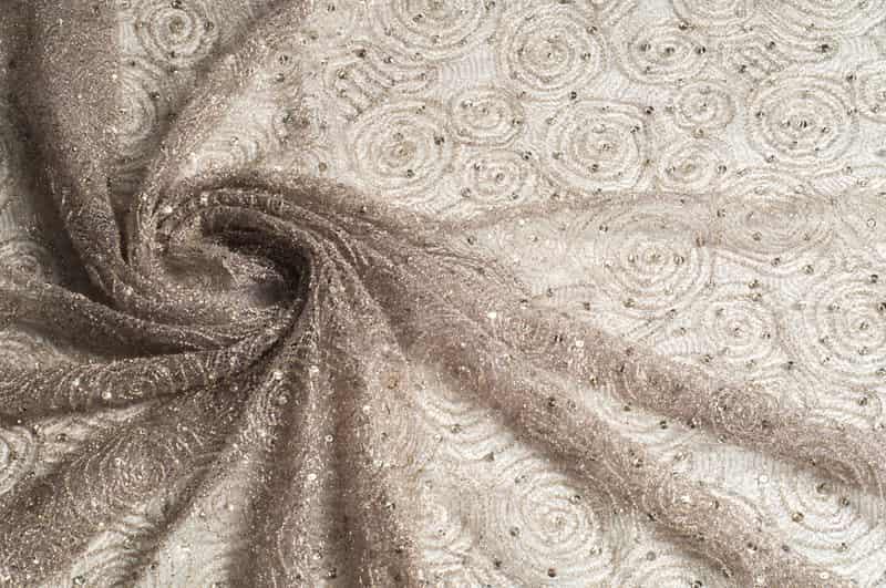 Beautiful, lace fabric at Jwalaheri Market