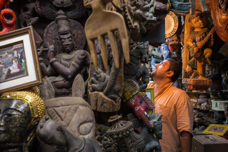 Chor Bazaar has very unique finds