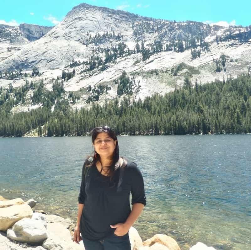 Lakshmi at Yosemite, California