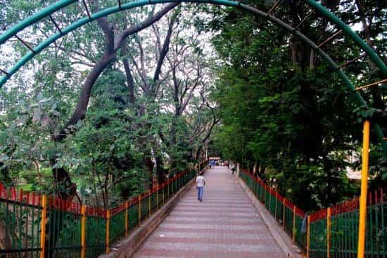 Sagar Vihar Garden is a good place to watch the sunrise