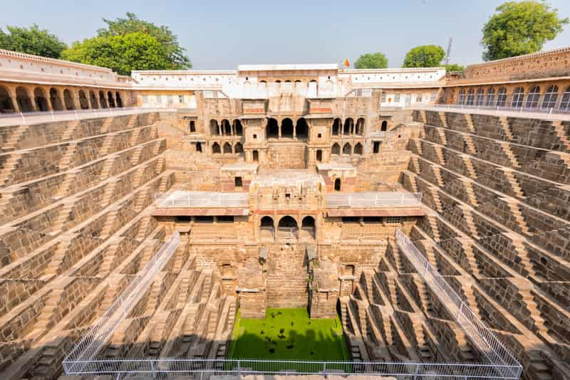 The Chand Baori Stepwell