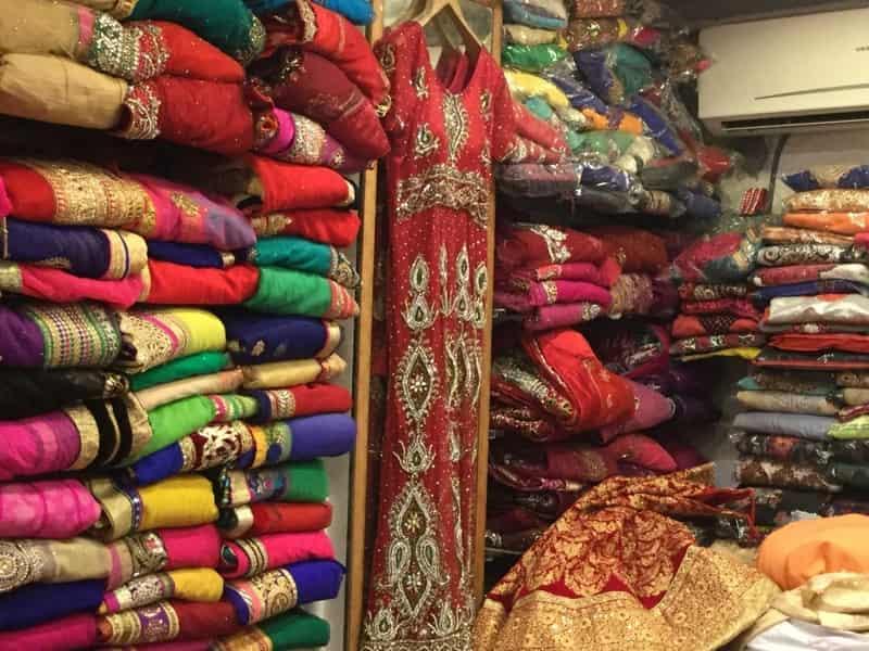The exquisite, ethnic fabrics at Karol Bagh Market